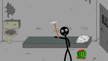 创意搞笑动漫: 火柴人越狱第一期!