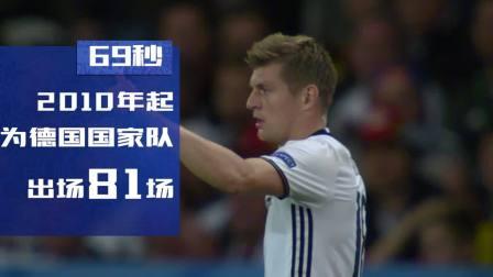 数说世界杯球星 德国克罗斯
