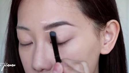 新手化妆技巧分享,眉毛画法,修眉毛,画眉毛教程视频