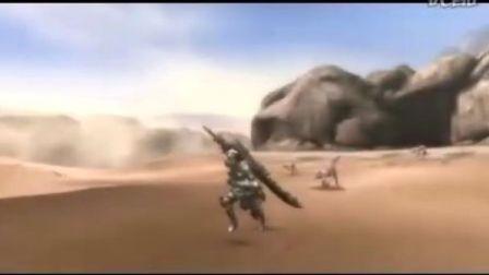 Wii《怪物獵人3》TGS2008宣傳影像