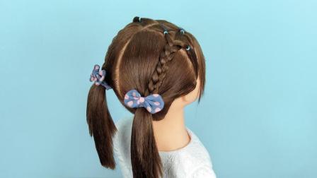 锡纸短发可以儿童编头发教程简单短发,赶紧为易学编发烫视频吗图片