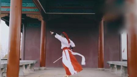 古装美女舞剑跳《离人愁》, 这一身实在太仙儿了