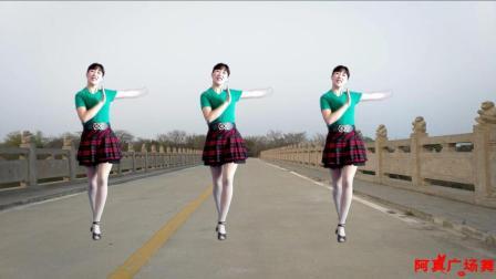 最新动DJ 广场舞 远走高飞 新颖舞步 就是简单好看