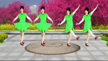 点击观看《最新吕芳广场舞 最美的相遇 简单优美正背面及分解动作》