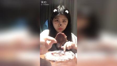 美拍:酱牛肉水果号吃秀号视频