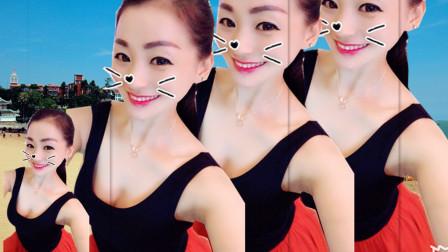 最新韵律瘦身舞 最美的时光DJ 青青世界广场舞