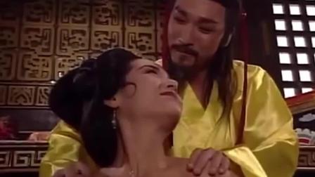 安禄山对杨玉环爱慕已久, 越她洗澡时用药将她迷晕!