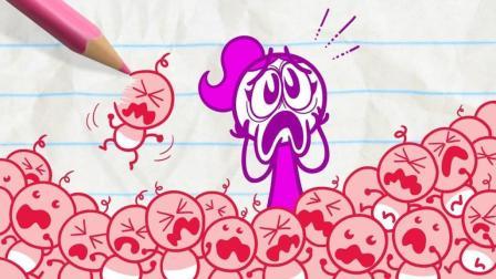 搞事铅笔动画: 被数学玩坏的铅笔人