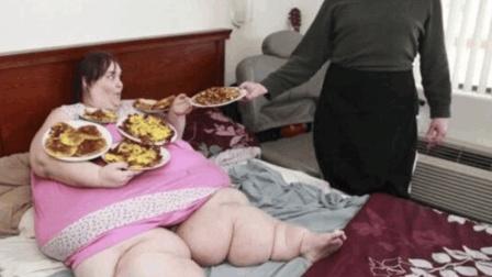世界上最胖的三个人, 有两个已经死了, 最重的达到了1454斤!