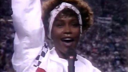 惠特妮·休斯�D《The Star Spangled Banner》1991年第25�贸��碗�F��
