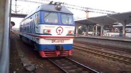 乘L8451次列车去金华南站(沪昆、金温线小运转)
