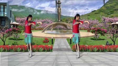 点击观看《32步广场舞 策马奔腾 歌曲大气飞扬 舞步流畅自然 适合大众》