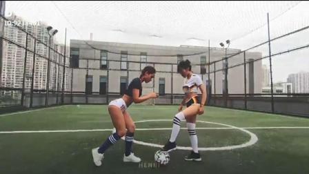 足球美女啦啦队