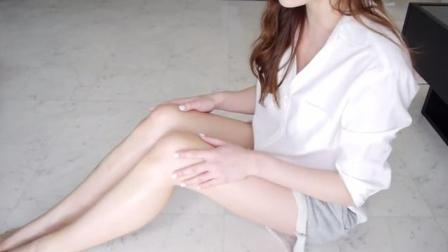 日本妹子的美腿按摩方法, 第二集!