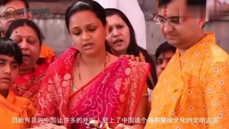 印度美女来中国旅游, 买了7条纱巾, 结账时愣住了