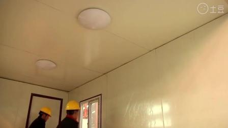 实拍2个工人24小时盖完一层房子