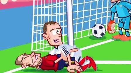 国外球迷动漫恶搞西班牙4-5惨遭俄罗斯淘汰, 西班