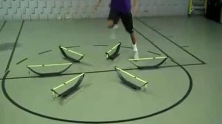 向各位篮球发烧友介绍新颖的篮球训练 快速抛投