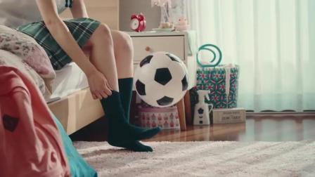 【足球】97年日本女优眞嶋優足球小将手游广告炫