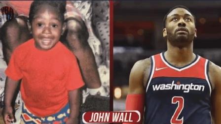 NBA球星小时候照片和现在对比, 原谅我一个都没认
