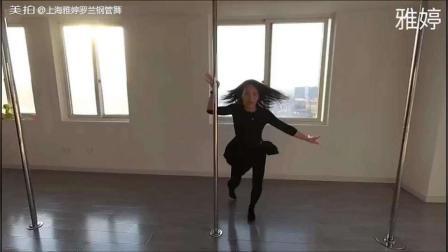 美拍视频: 钢管舞蹈空空如也