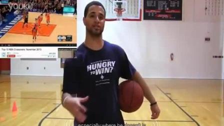 篮球技巧教学: 托尼帕克的过人 投篮技巧的三步