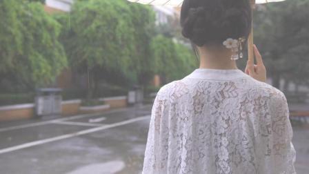 95后小姐姐穿汉服上街