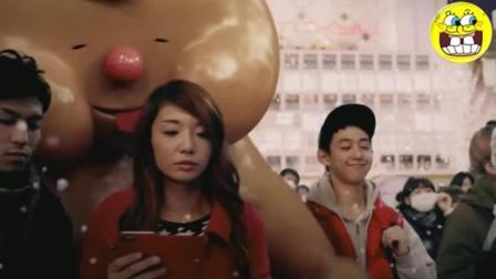日本创意广告: 你笑, 世界就跟着改变!