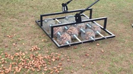 国外牛人发明了一台拾取坚果的机器, 谁能解释一