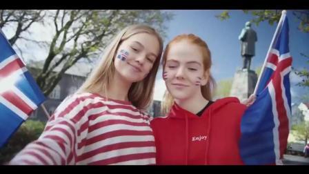 创意广告: 冰岛门将导演的世界杯广告《不畏强敌