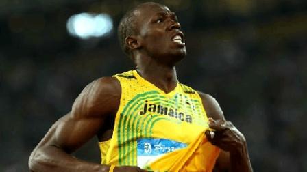 见识一下世界上跑的最快的男人! 博尔特这样的速