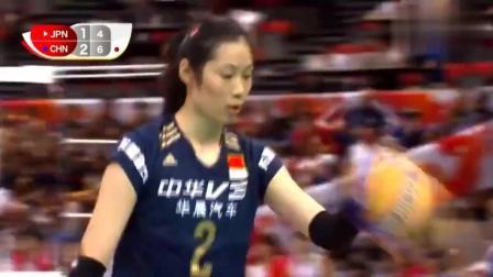 2015女排世界杯朱婷精选