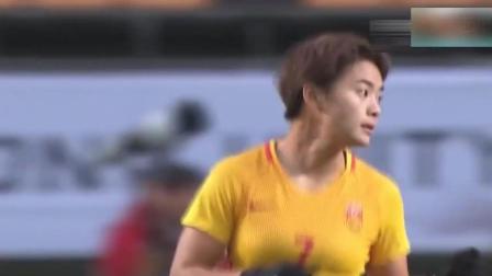 韩国女足第一美女  每一个动作都好看  被足球耽