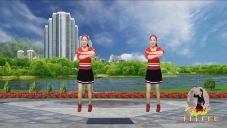 点击观看《蓝天云广场舞 活力健身操 小妹听我说 附广场舞分解教学》