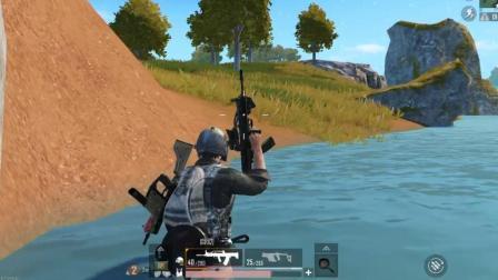 狙击手麦克: 雨林战场带妹吃鸡, 全靠手中这把QBZ95-1自动步枪!