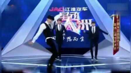 蔡徐坤用女团音乐跳舞, 评委看完都傻眼!