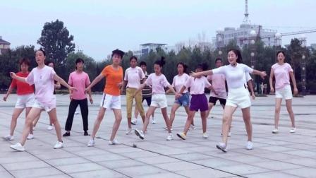 青青世界广场舞 格桑花儿几时开 42步鬼步舞舞蹈动作分解视频教学 含正背面示范