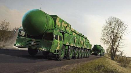 亮剑出鞘! 中国东风41核导弹立刻发射全命中