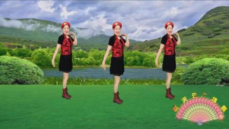 蓝天云广场舞 水兵舞舞蹈动作分解视频教学 绿洲之恋 正背面示范