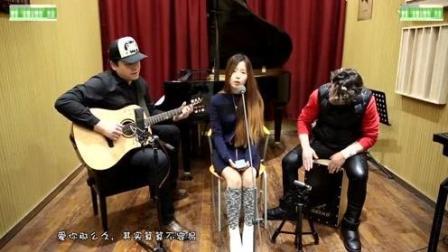 韩国美女翻唱张惠妹《我可以抱你吗》吉他弹唱