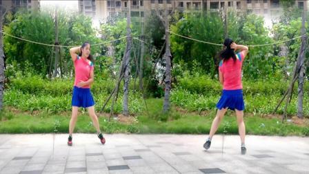 优柔广场舞 健身操第三套第十节 水兵舞步 入门健身操教学分解视频版