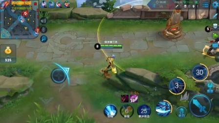 游戏幽默视频: 对方是战士打野时韩信音应何去针