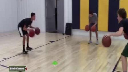 篮球课 约翰逊教练与小伙伴的后卫训练课 篮球教