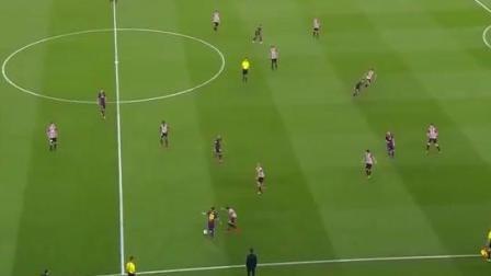 跪着看梅西犯罪一球, 梅西一人单挑对方全队, 上