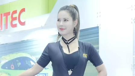 180721 2018 首尔汽车沙龙 韩国美女模特 车模 주현