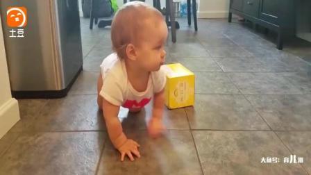 宝宝真好忧伤的, 没想爸爸这样带娃, 妈妈知道了