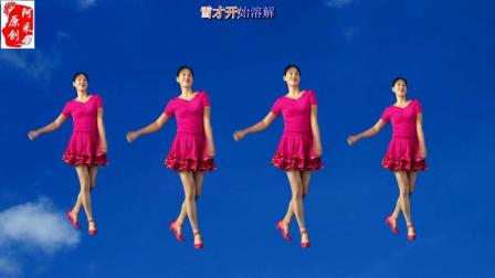 新手入门32步教学 万树繁花 歌好听, 舞简单动感 正背面示范 阿采广场舞