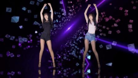 点击观看《大长腿妹子跳韩舞, 身材不比女团成员差》