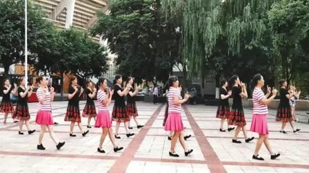 支英广场舞 唱首情歌给草原  32步好听好看还整齐