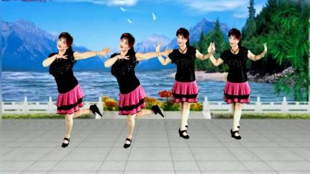 点击观看《吕芳广场舞 情歌里的你 初学32步广场舞分解教学视频 附口令分解》
